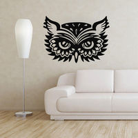 Owl Wall Decals Bird Stickers Vinyl Decal Baby Nursery Bedroom Home Decor