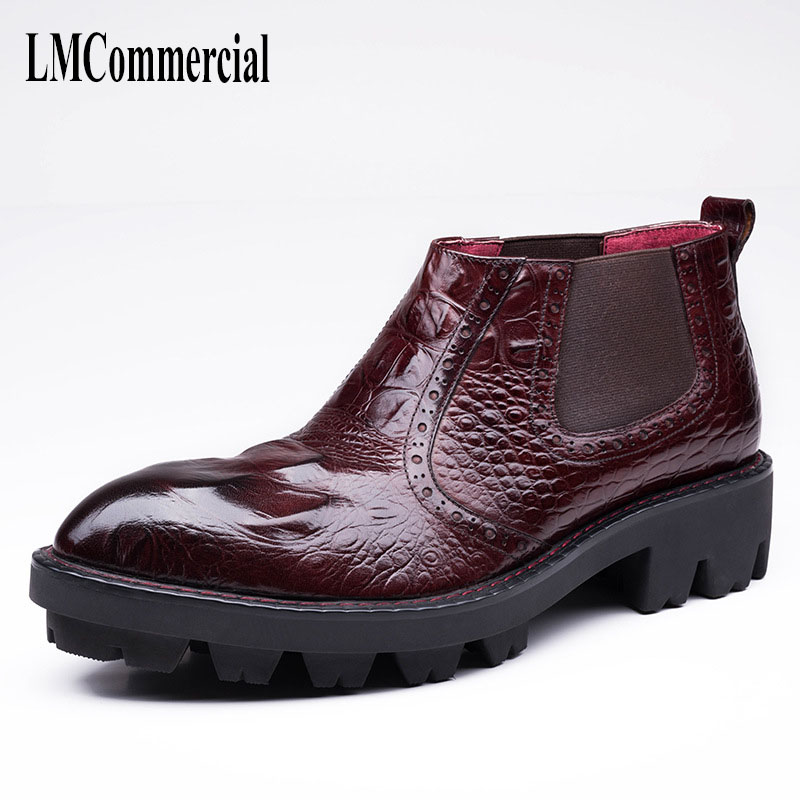 new autumn winter British retro high male boots leather cowhide cashmere zipper leather shoes breathable fashion boots men 2017 new autumn winter british retro zipper leather shoes breathable sneaker fashion boots men casual shoes handmade