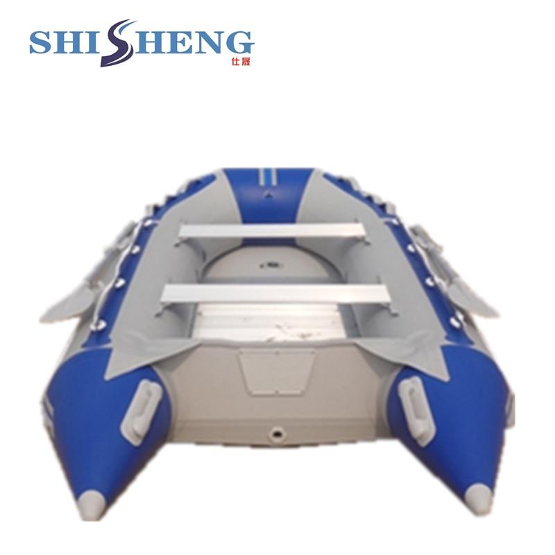 Bote inflable de aluminio plegable de alta - Deportes acuáticos - foto 3