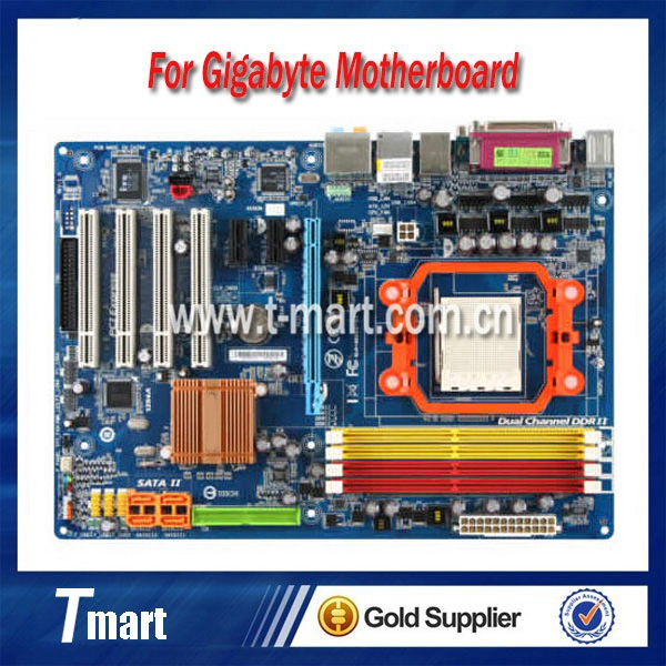 ФОТО 100% working Desktop motherboard for Gigabyte GA-M56S-S3 System Board fully tested