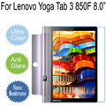 """Clear Matte Soft Anti-Explosion Screen Protector For Lenovo YOGA Tab 3 850F 8.0"""" Tablet PC Protective Film Not Tempered Glass"""