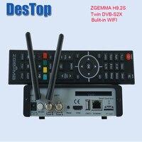 2018 новая версия zgemma Н9.2С ОС Linux enigma2 на ресивер спутниковый цифровой 4 к UHD с поддержкой DVB-s2x + стандарт DVB-s2x Твин тюнер с WiFi и внутренний