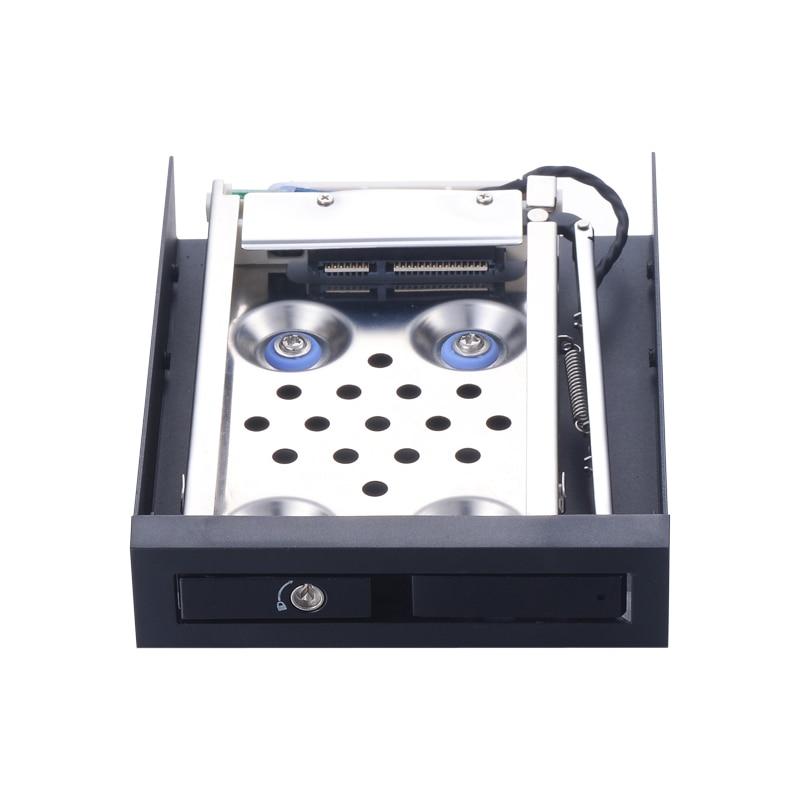 2.5 pouces antichoc SATAIII internes 6gbps HDD/SSD plateau caddy pour 3.5in disquette l'espace avec Hot-swap boîtier de disque dur