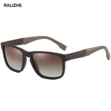 New Square Driver Men Polarized Sunglasses Retro TR90 Frame