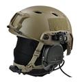E1038 AIRSOFT AF CORE OPS FAST TAN SAND HELMET TORCH frame Helmet side flashlight fixture Tactical Helmet special accessories