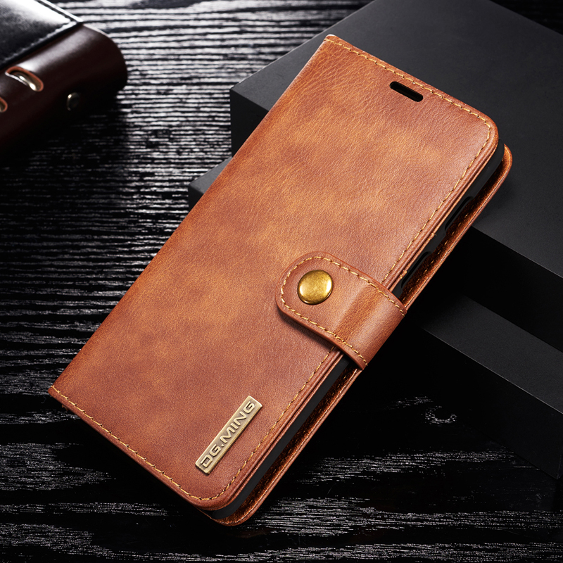 <font><b>OnePlus</b></font> 6T Case For Oneplus6 6T PU Leather Wallet <font><b>Cover</b></font> for oneplus6T 6 2 in 1 Thin Case <font><b>Flip</b></font> Magnetic <font><b>Cover</b></font> Book Holder Fundas image