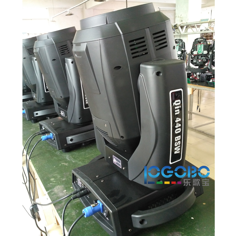 Free Shipping Professional Sharpy 20R Beam 440W Moving Head Lights CMY Stage Effect Beam Lights 30/34 DMX 512 Chs DJ Lightings 6pcs lot white color 132w sharpy osram 2r beam moving head dj lighting dmx 512 stage light for party
