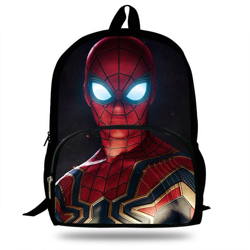 16 Zoll Mochila Spiderman Rucksack Geschenk Mädchen Marvel Avengers Taschen Für Schule Jungen Reisetasche Jugendliche Bookbag Studenten Eleganter Auftritt