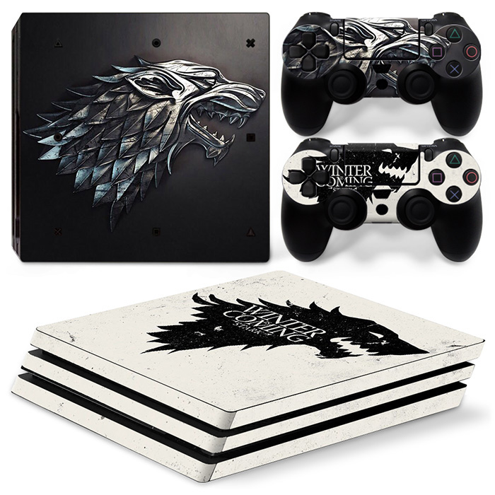 For ps4 pro skin stickers vinyl material PVC game decals for PS4 Pro
