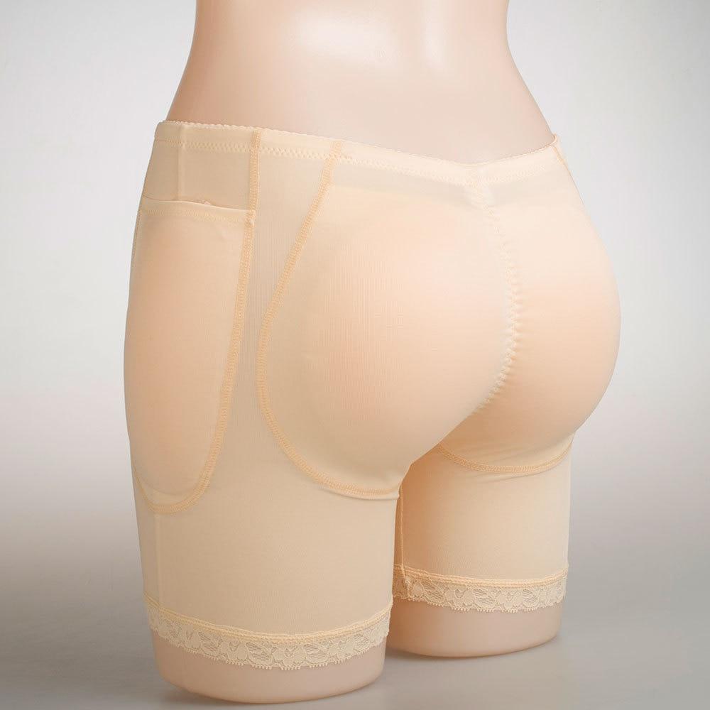Bout à bout Silicone pad culotte Hip up rembourré hanches et fesses faux fesses coussinets bout à bout rembourré femmes sous-vêtements dentelle culotte