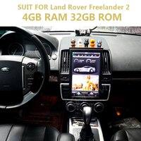 "KiriNavi PX6 6 Core 4+32G Tesla Style Vertical Screen13.6"" Android 9 Car multimedia system For Land Rover Freelander 2 2007 2015"