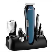 Professional Hair Trimmer 5 In 1 Hair Clipper Shaver Sets Men Electric Shaver Beard Trimmer Hair Cutting Machine Multifunctional