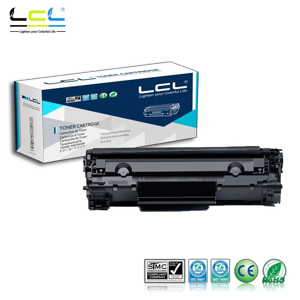 LCL 85A CE285A CE285 285A (1-Pack Black) Toner Cartridge Compatible for HP Laserjet pro M1132/M1210/M1212nf/M1214nfh/M1217nfw