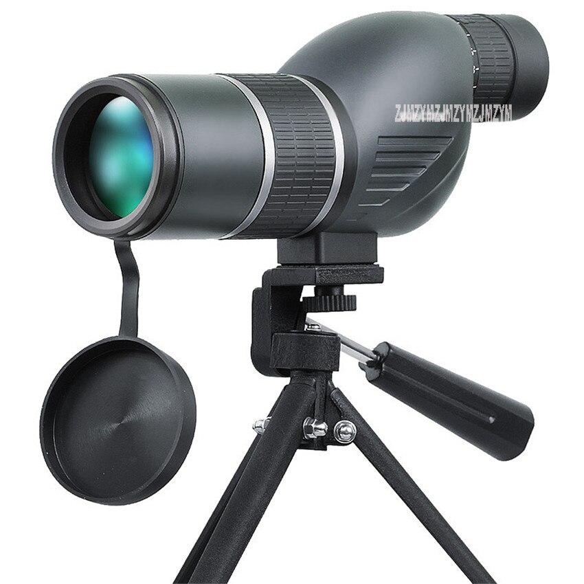 12-36X50 Spotting Scope 50mm Télescope 12-36X Zoom Étanche Birdwatch Chasse Monoculaire Avec Trépied Montage Longue Portée Monoculaire
