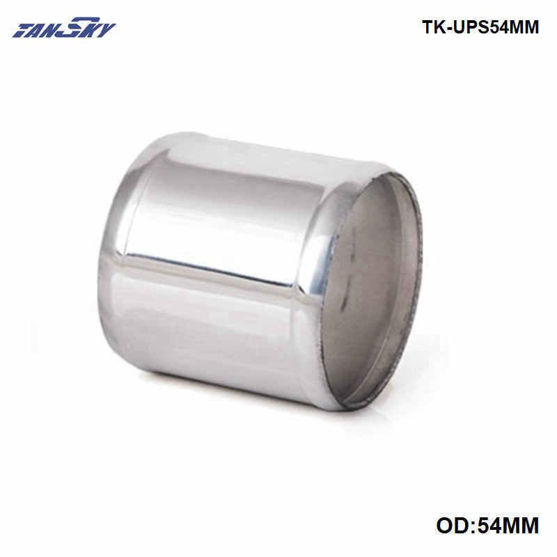 Tubo de alumínio reto od 42mm/48mm/54mm/60mm l = 76mm do turbocompressor da entrada do intercooler de tansky
