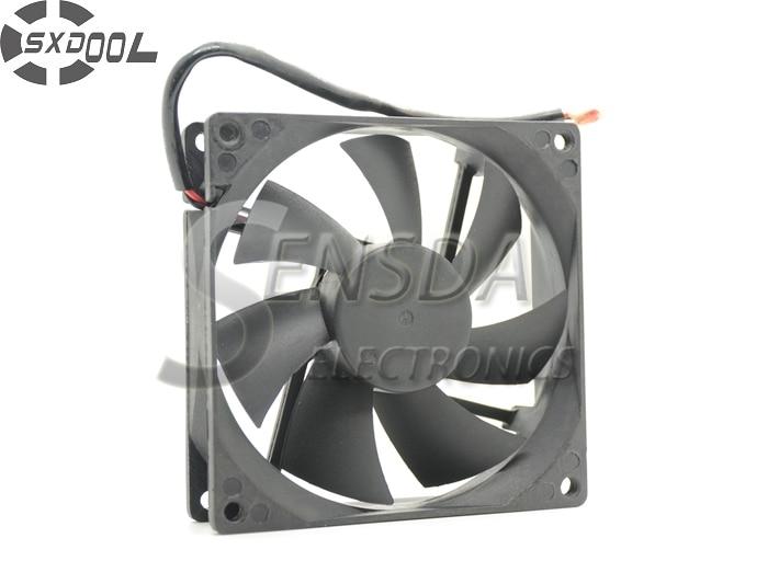 SXDOOL səssiz soyutma fanı 90mm 90 * 90 * 25 RDL9025S DC12V 0.16A 2 tel soyuducu fan