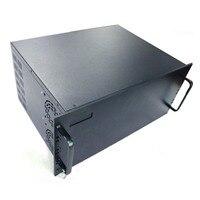 4U serial chassis Aluminum enclosure box metal sheet galvanized sheet custom service DIY NEW wholesale price