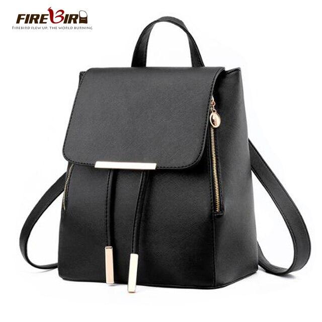 FIREBIRD! mochila de couro de design da marca 2017 mulheres elegantes mochila promoção mochila da menina da escola mochila Nova listagem FN45