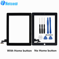 Netcosy Touch Screen Digitizer Panel Replacement Parts For IPad 2 Tablet Touch Panel Tools Repair Parts