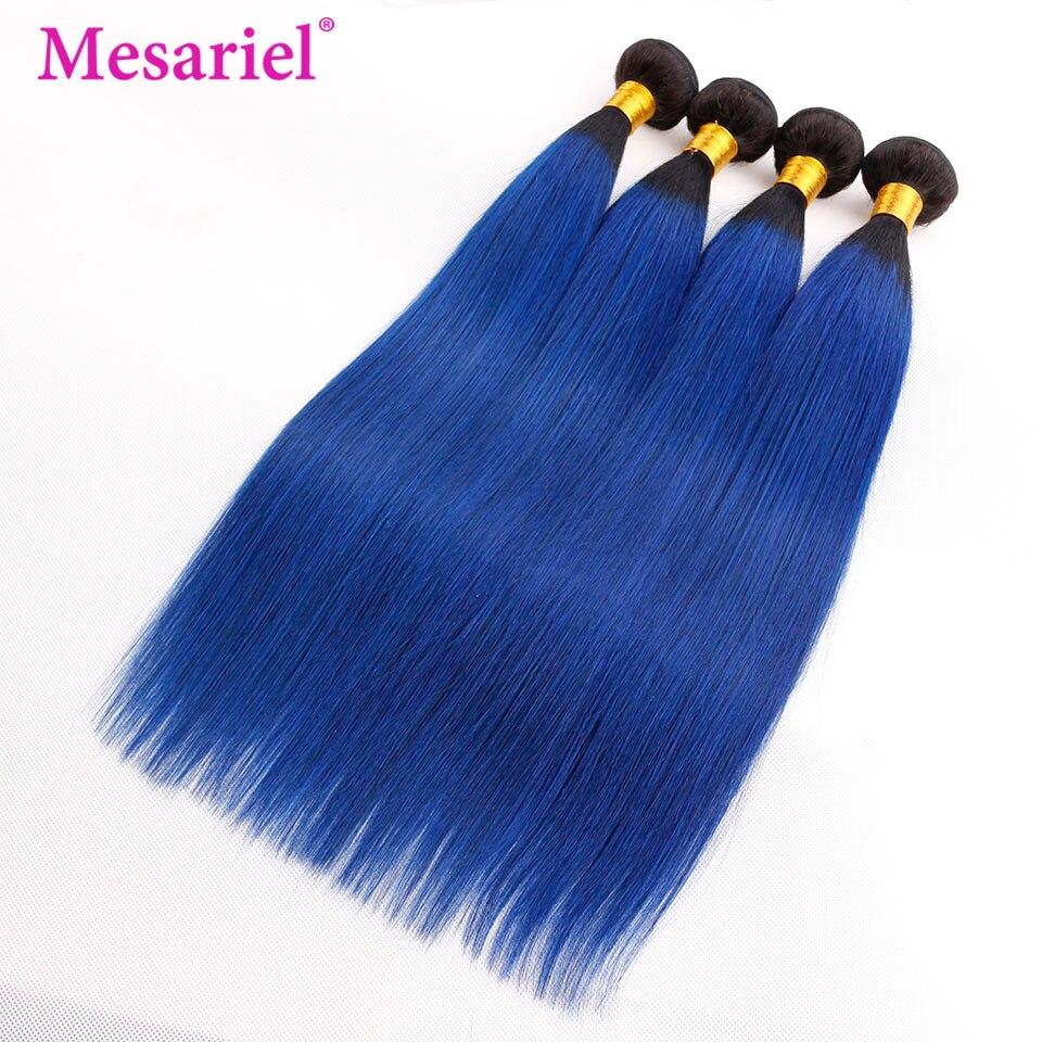 Kleeblatt Peruanische Körper Welle 1b-blue Ombre Haarwebart Nicht-remy Menschenhaar 3 Bündel Große Wert Für Salon Haar Extensions Online Shop Salon Bündel-haare