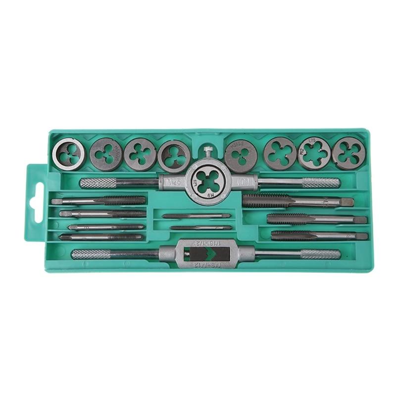 Handwerkzeuge Begeistert 20 Teile/satz Tap Sterben Set Metric Hand Cnc-gewindewerkzeughalter Hartmetall Gewinde