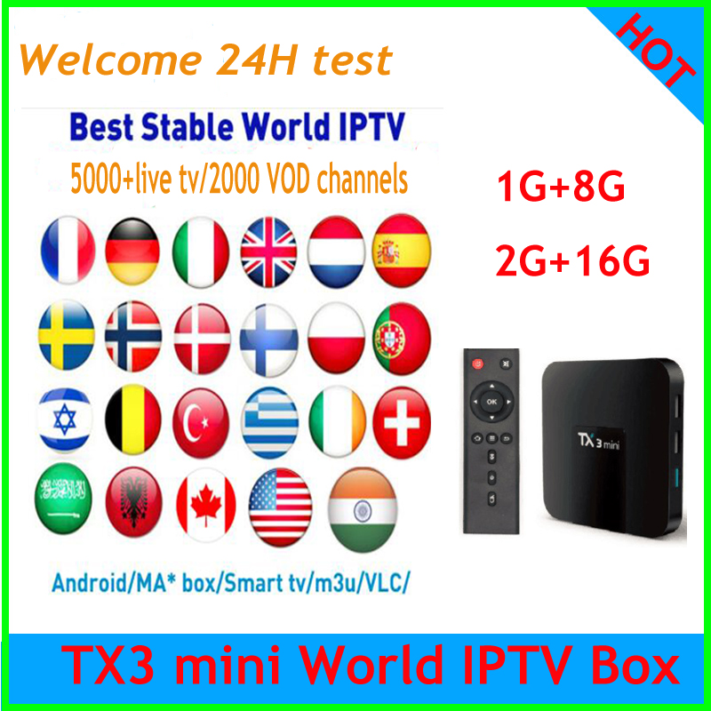 Live Kanäle 3000 Vod Chinesische Asien Iptv Abonnement Tx3 Mini 2g 16g Smart Android Tv Box Und 2 Jahre Freies Iptv Drachen Tv 500 Unterhaltungselektronik