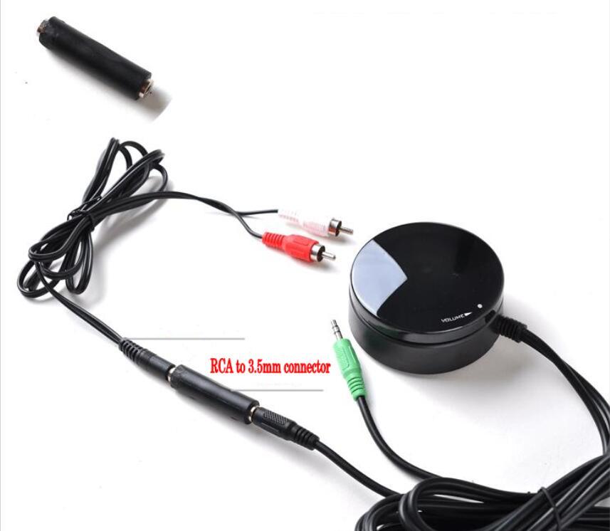 Speakers Headphones 3.5MM Audio Switch Converter Volume Controller Power Amplifier Adjustment