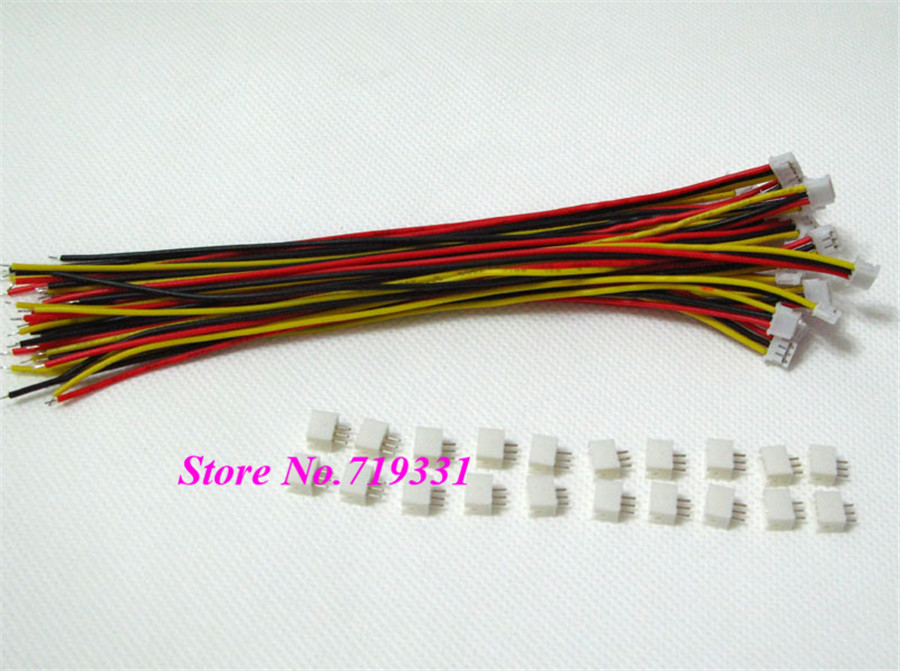 1000SETS Mini Micro JST ZH 1 5 3 Pin Male Connector Female Connector plug w Wires