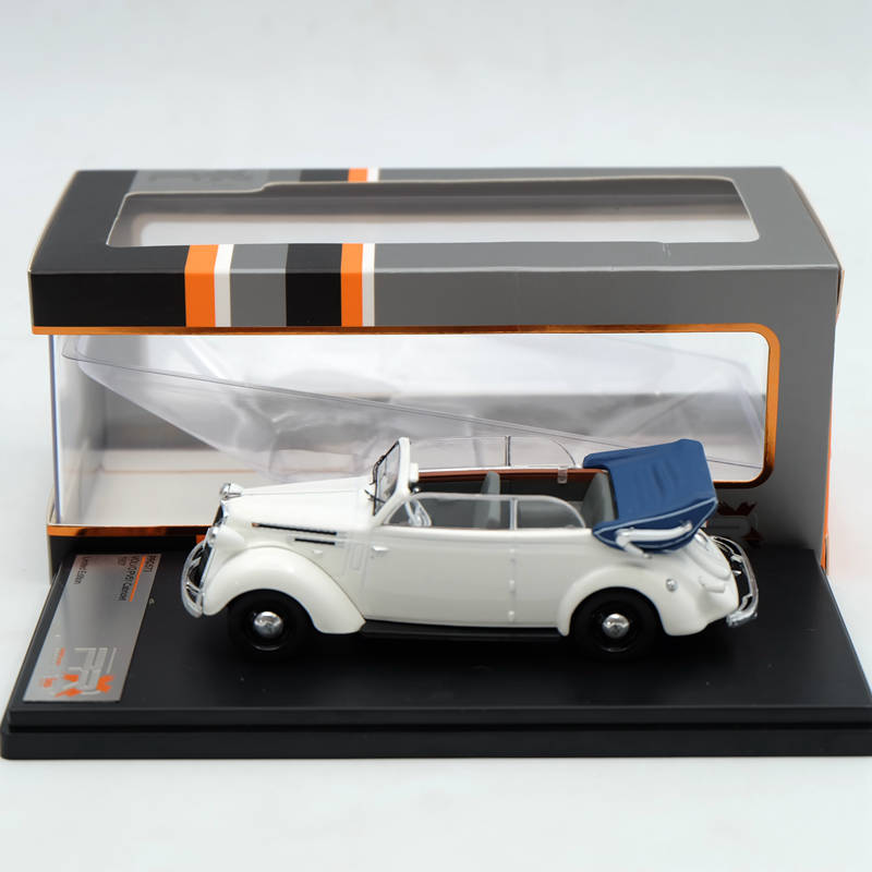 Premium X 1:43 Volvo PV51 Cabriolet 1937 Resin White PRD573 Limited Edition Collection Resin Auto ixo premium x 1 43 stutz blackhawk coupe 1971 red prd002 limited edition collection resin auto models