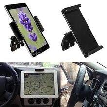 """Nuevo 10 """"Ranura de CD de Coche Universal ajustable Del Teléfono Tablet Soporte Ajustable de Soporte para El Ipad 1 2 Para Samsung Tabletas y Soporte GPS Stander"""
