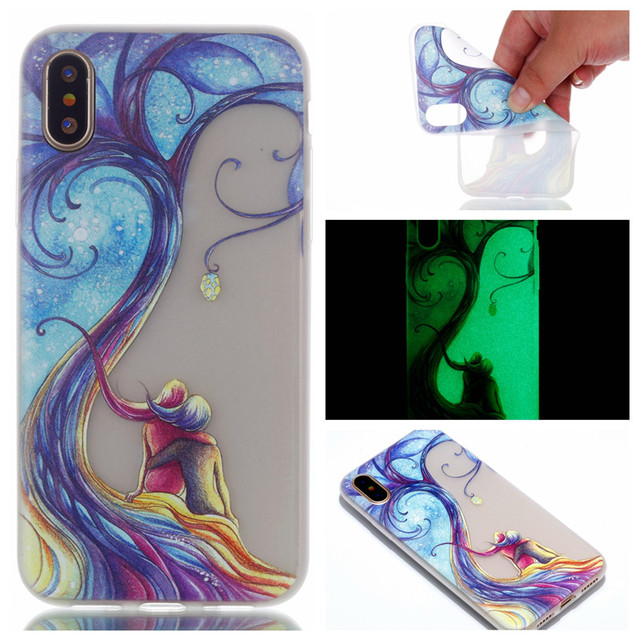 coque multicolor apple iphone x