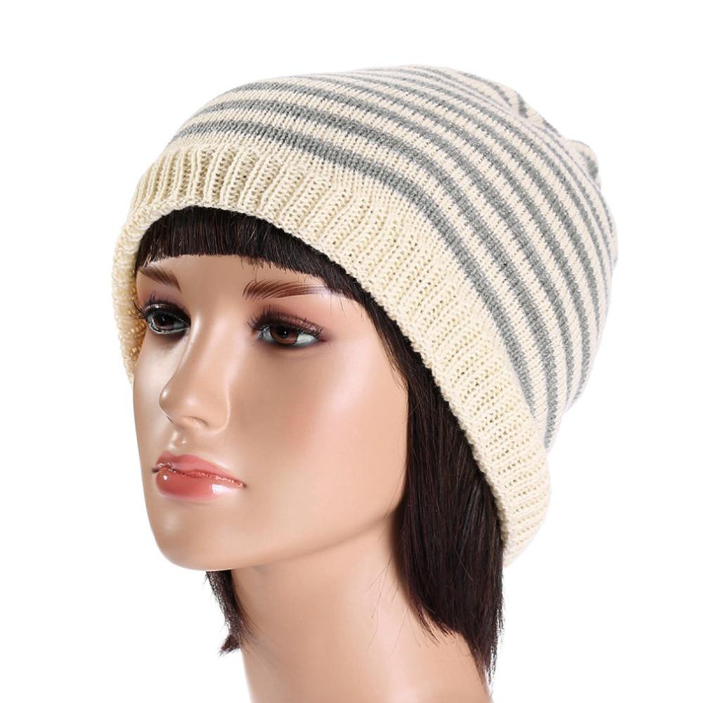 New Unisex Fashion Gift Knit Baggy Beanie Hat Winter Warm Bronzing Star Fashion Sleeve Head Cap Beanies Sombreros Apparel Hot