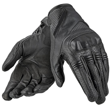 Motorcycle Professional racing windproof warm gloves leather riding