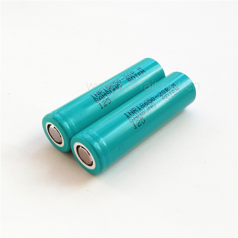 High Drain For <font><b>SAMSUNG</b></font> INR18650-<font><b>25R</b></font>/M 2500mah 20A 3.6V 3.7V Lithium ion li ion rechargeable Batteries Cell image