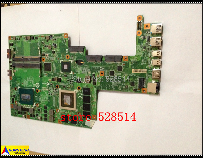 original MAINBOARD FOR MSI MS-17711 VER: 0A LAPTOP MOTHERBOARD WITH CPU 100% Test ok