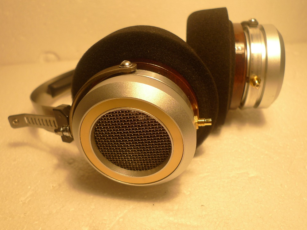 Full Metal headphone shell for 50mm/53mm HIFIMAN gold plated female seat image