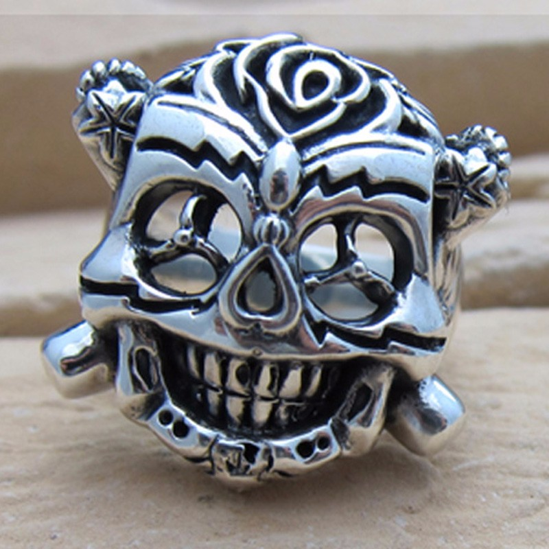 Top Quality The Expendables Rings For Men Genuine 925 Sterling Silver Skull Ring Jewelry Free Engraving Drop Ship drop shipping business for shopify wordpress free oversea drop ship t shirt jewelry drop shipper from china quality service