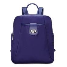Корейский стиль небольшой рюкзак для девочек-подростков женские нейлон Рюкзаки женские водонепроницаемые Bagpack случайные путешествия SAC DOS рюкзаки