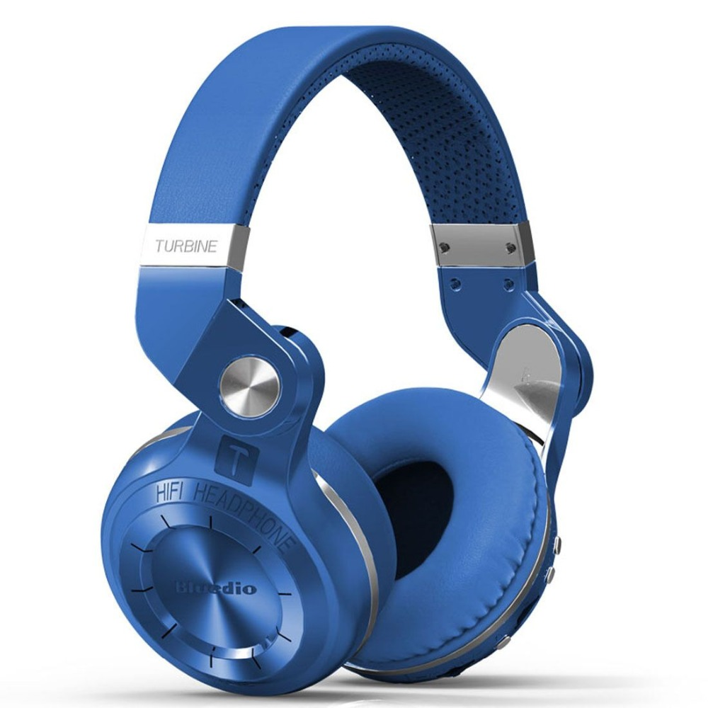 ФОТО Bluedio T2+ Bludio Headphones Bluetooth Version 4.1 Built-in Mic Fashionable Folding for Handsfree Phone Calls&Music Streaming