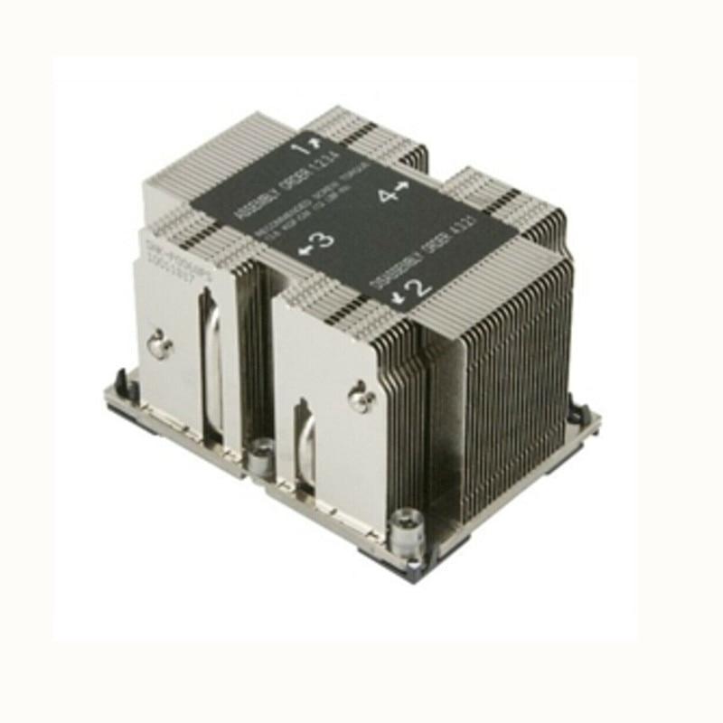 Ventilateur SNK-P0068PS 2U passif CPU dissipateur de chaleur pour X11 Purley plate-forme SNK-P0068PS processeur dissipateur de chaleur CPU passifVentilateur SNK-P0068PS 2U passif CPU dissipateur de chaleur pour X11 Purley plate-forme SNK-P0068PS processeur dissipateur de chaleur CPU passif