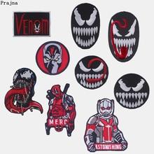 54c41fa7daed8 Prajna veneno Sudadera con capucha de hierro en parches para ropa DIY  Deadpool chaqueta parches bordados