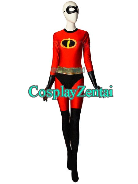 the incredibles 2 elastigirl spandex woman catsuit superhero costume f ree shipping halloween costumes for woman