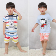 2017 New Top 2pcs/set T-shirt Set Baby Clothing Set Summer Style Newborn Baby Boy Girl Clothes Set Short Sleeve Ropa Suit Menino