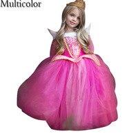 جميلة جدا عالية الجودة صوفيا الأميرة آنا و إلسا إلزا فستان الأميرة للبنات الاطفال الطفل الاطفال الميلاد حزب التعشيب الملابس