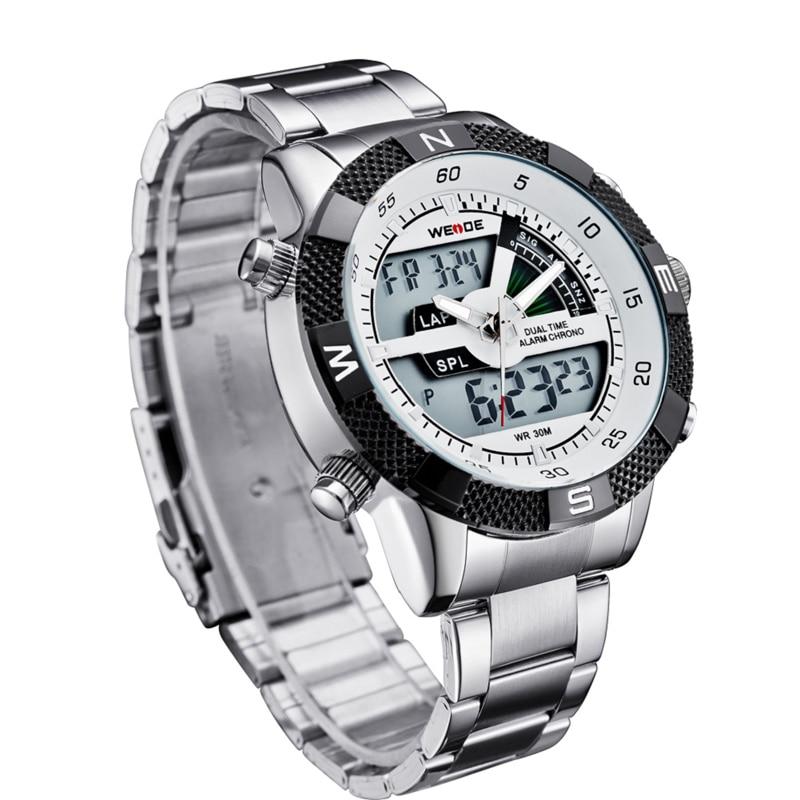 WEIDE Πολυτελή μάρκα ανδρών ρολόι LED - Ανδρικά ρολόγια - Φωτογραφία 4