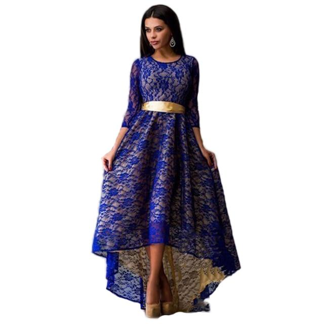 8b09c4d25e0 Robe Longue Femme D été Maxi Robe Plus Taille Indien Dentelle de Soirée  Robes de