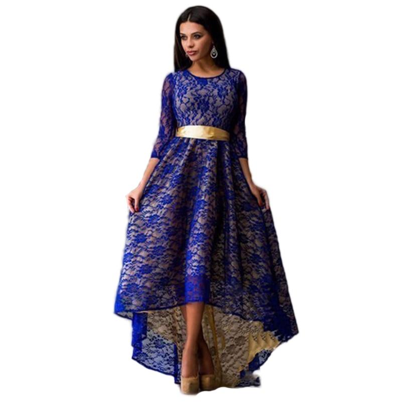 Robe Longue Femme Summer Maxi Dress Plus Size Indian Lace