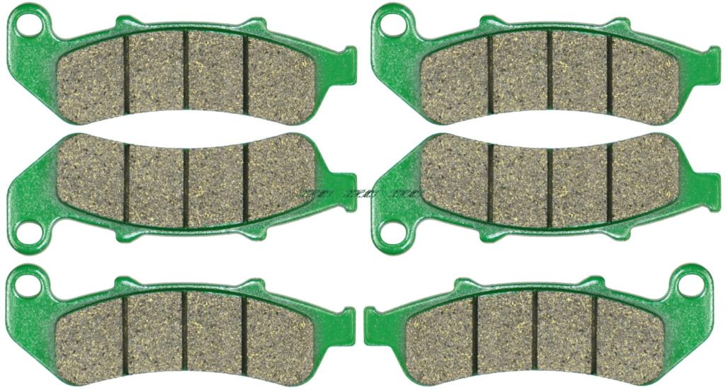 Disc Brake Pads Set For <font><b>Honda</b></font> <font><b>Cbr1000f</b></font> Cbr1000 Cbr 1000 F-Fp 1993 1994 1995 1996 1997 1998 1999 image
