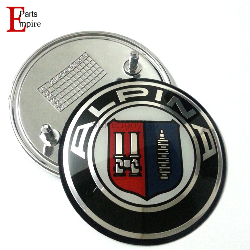 high quality modified 82mm for bmw logo alpina x3 x5 f10. Black Bedroom Furniture Sets. Home Design Ideas