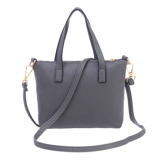 Women Fashion  female bags quality pu leather soft face women bag wild shoulder messenger bag  crossbody bags 5